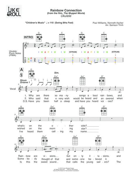 Rainbow Connection - Ukulele