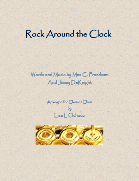 Rock Around The Clock for Clarinet Choir