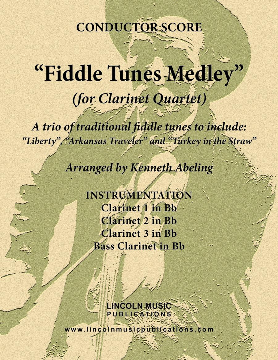 Fiddle Tunes Medley (for Clarinet Quartet)