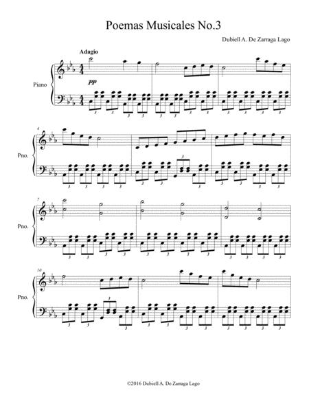 poema musical no.3