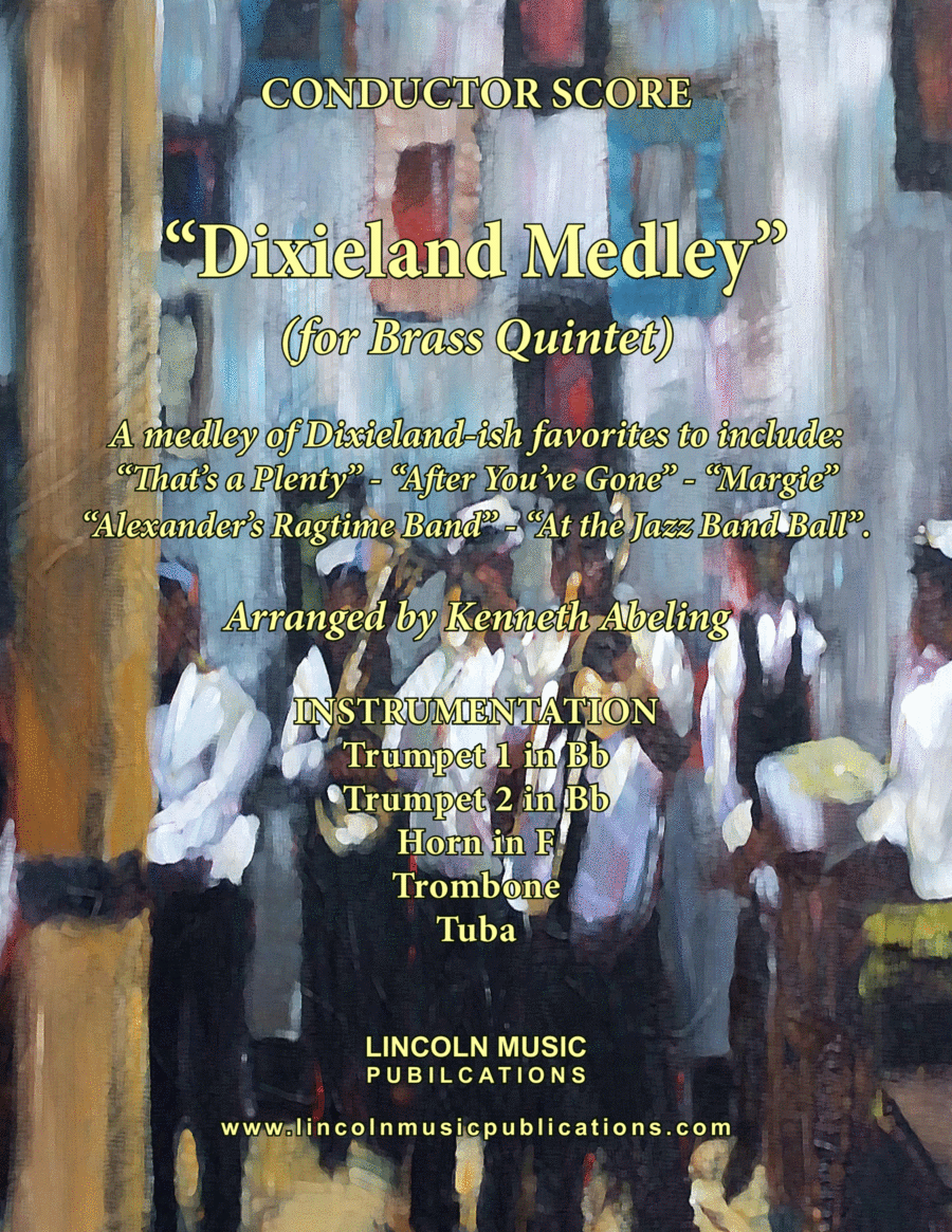 Dixieland Medley (for Brass Quintet)