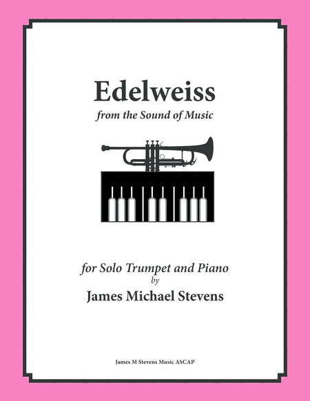 Edelweiss - Trumpet & Piano