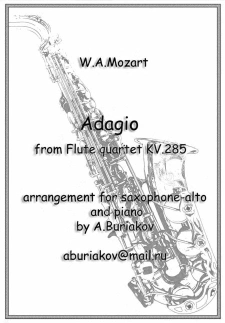 Adagio (sax-alto)