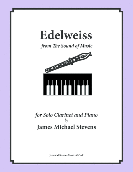 Edelweiss - Clarinet & Piano