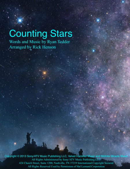 Counting Stars for Steel Band