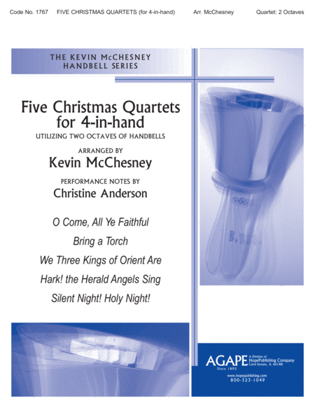 Five Christmas Quartets For 4-In-Hand
