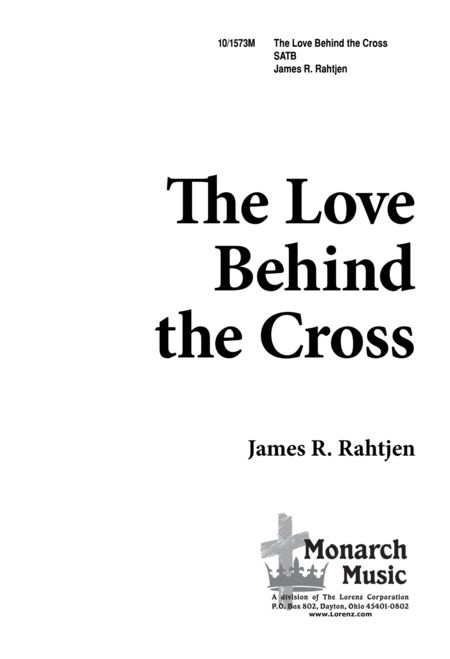 Love Behind the Cross