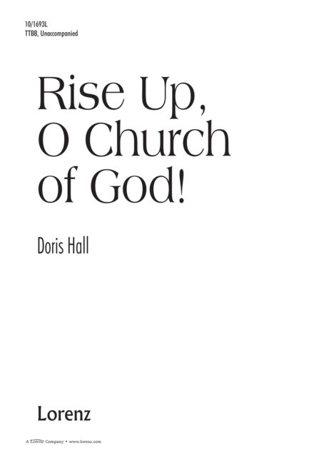 Rise Up, O Church of God