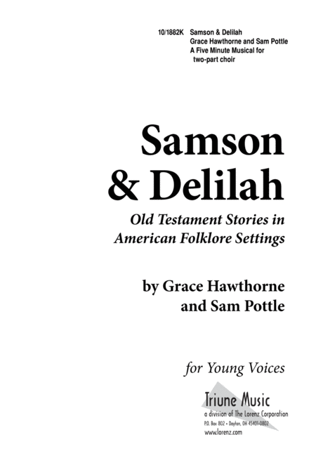 Five-Minute Musicals: Samson and Delilah