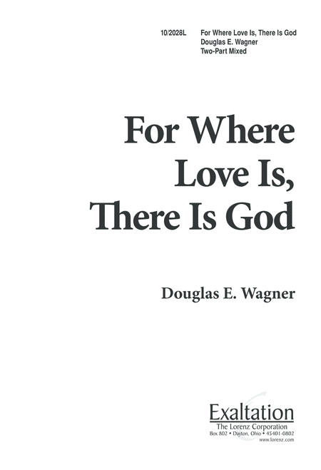 For Where Love is, There is God