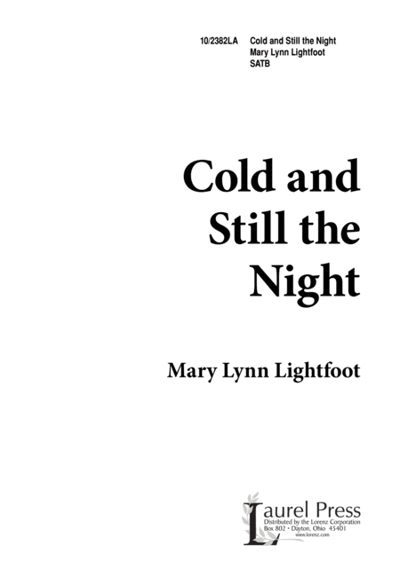 Cold and Still the Night