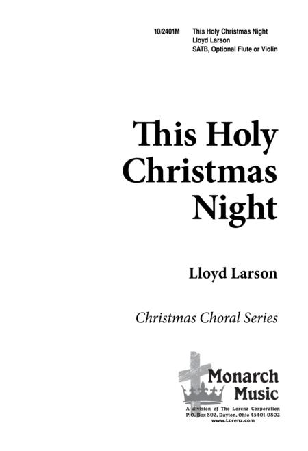 This Holy Christmas Night