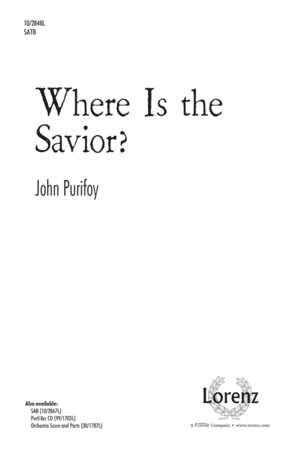 Where Is the Savior?