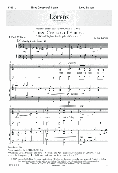 Three Crosses of Shame