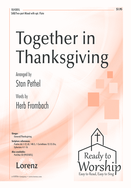Together in Thanksgiving