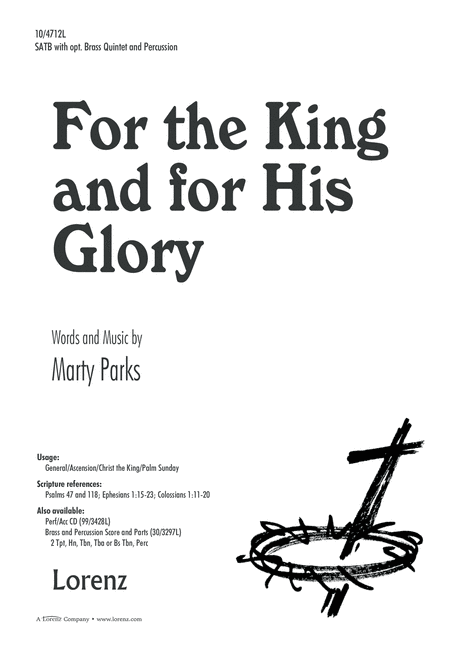 For the King and for His Glory