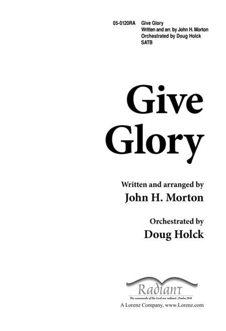 Give Glory