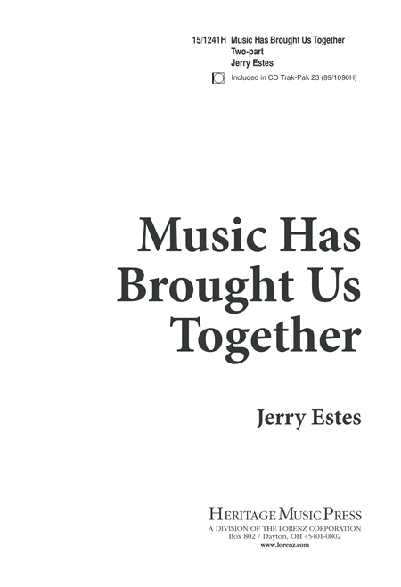 Music Has Brought Us Together