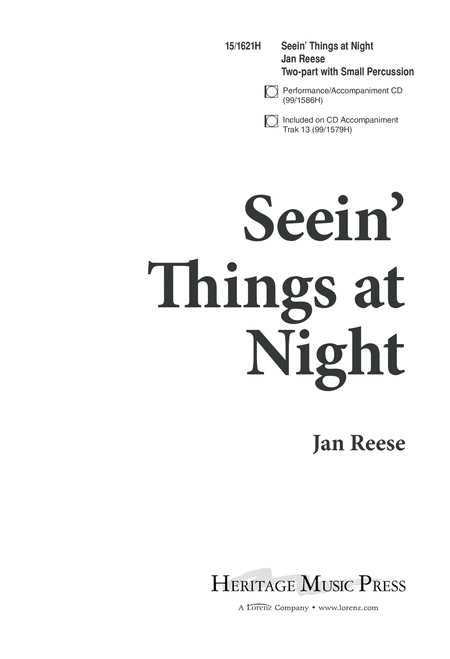 Seein' Things at Night