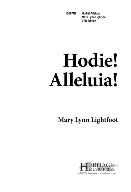 Hodie! Alleluia!