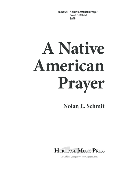 A Native American Prayer