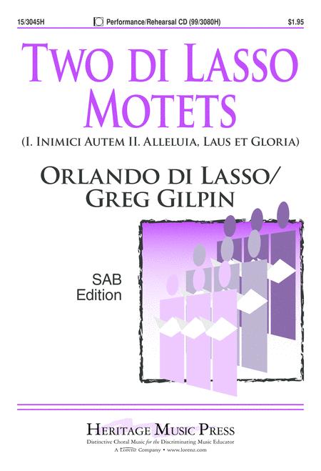 Two di Lasso Motets