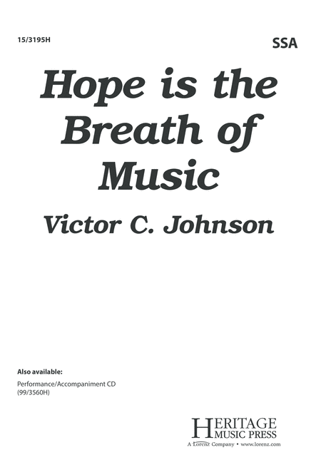 Hope is the Breath of Music