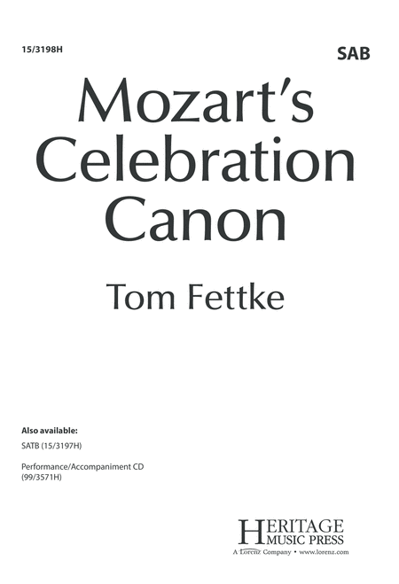 Mozart's Celebration Canon