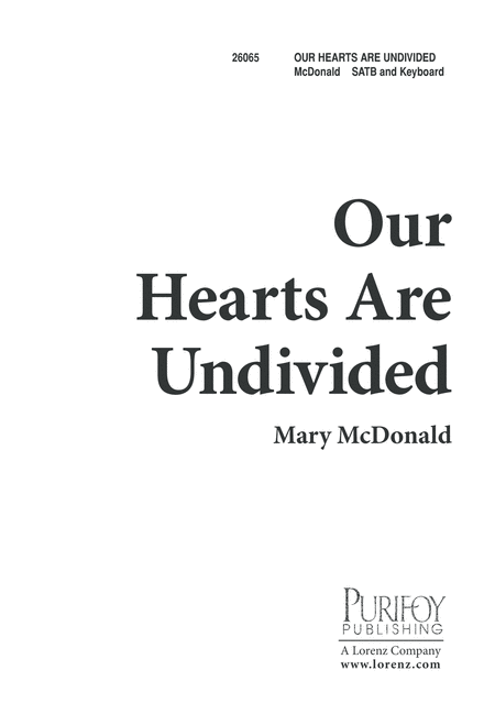 Our Hearts Are Undivided