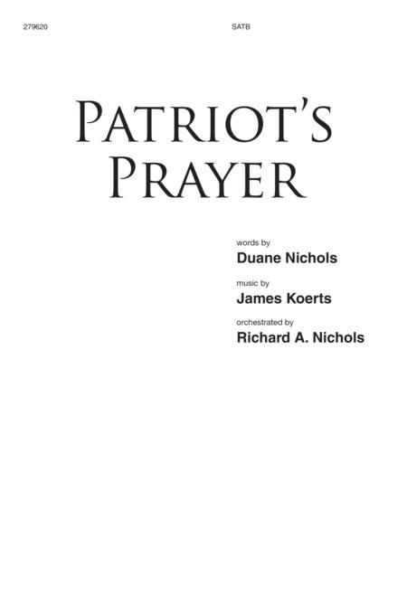 Patriot's Prayer