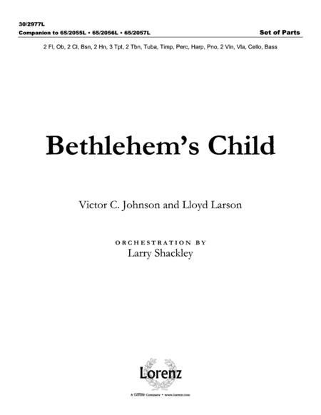 Bethlehem's Child - Set of Parts