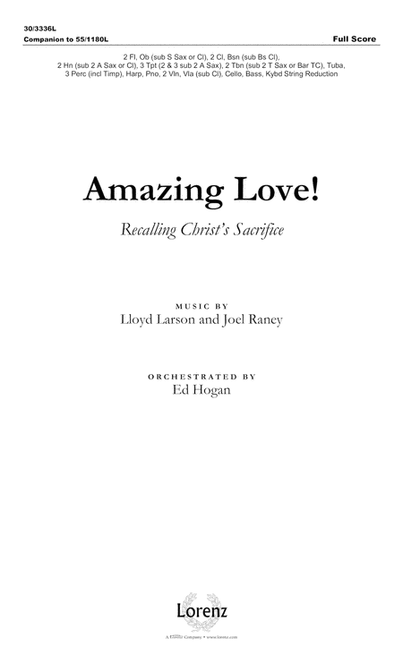 Amazing Love! - Full Score
