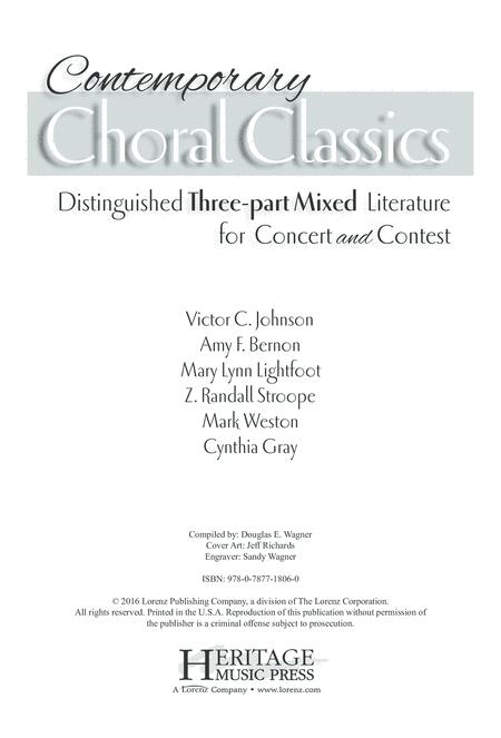 Contemporary Choral Classics