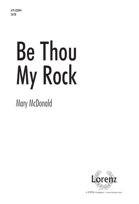 Be Thou My Rock