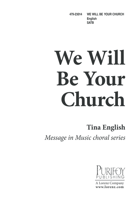 We Will Be Your Church