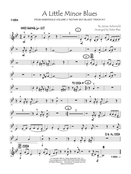 Aebersold Jazz Ensemble, Vol. 1 - F Horn