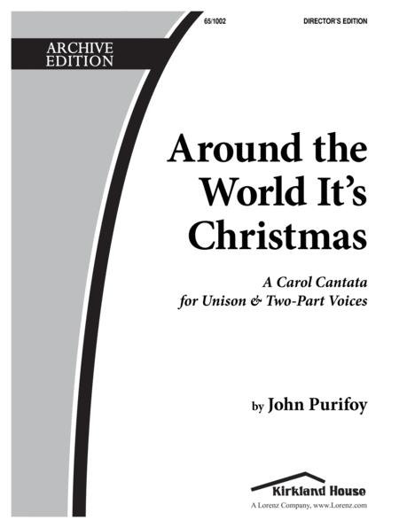 Around the World It's Christmas - Dir Ed