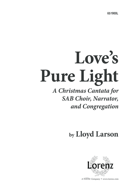 Love's Pure Light