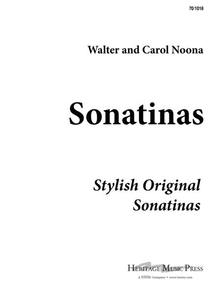 Sonatinas: First Book of Sonatinas
