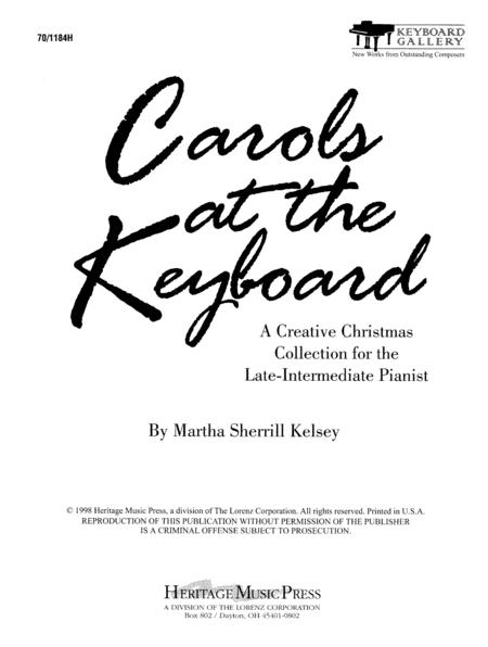 Carols at the Keyboard