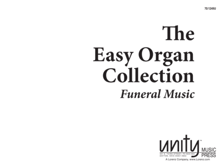 The Easy Organ Collection: Funeral Music