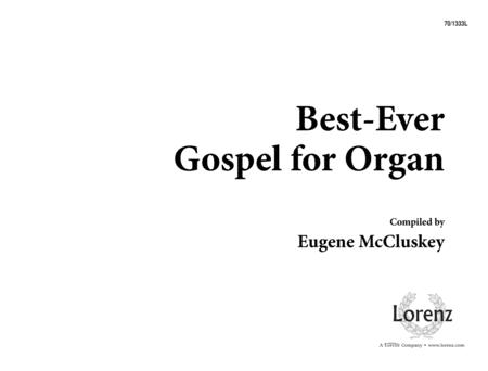 Best-ever Gospel for Organ