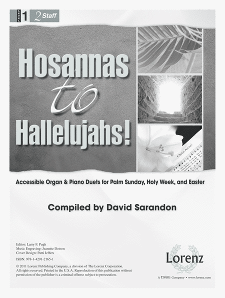 Hosannas to Hallelujahs!