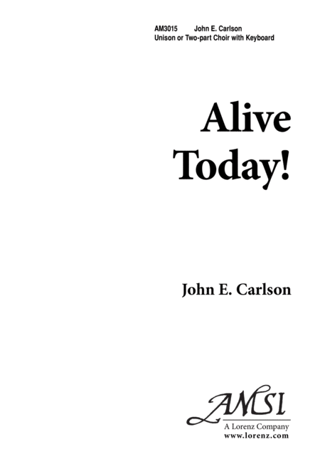 Alive Today!