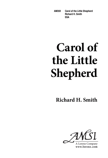 Carol of the Little Shepherd