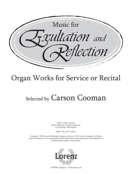 Music for Exultation and Reflection