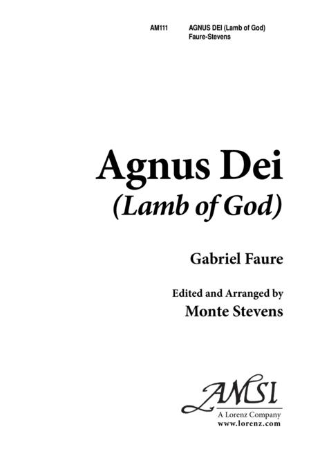 Agnus Dei (Faure)