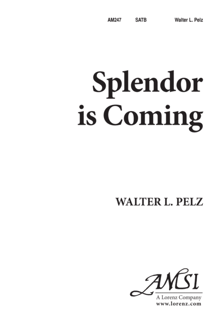 Splendor is Coming