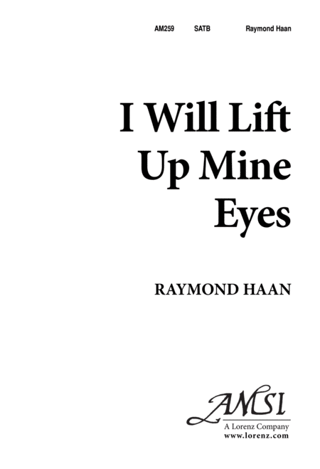 I Will Lift Up Mine Eyes
