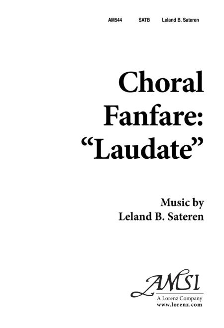 Choral Fanfare 'Laudate'